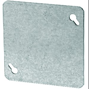 4-in Square Flat Blank Cover