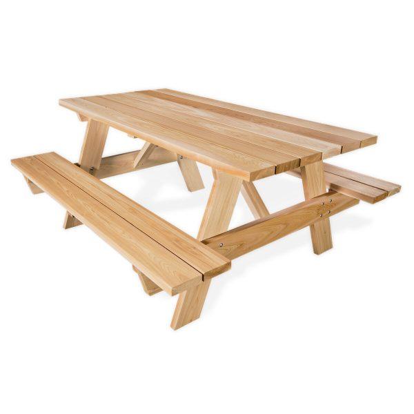 Pinic Table Kits at Kelly Lake